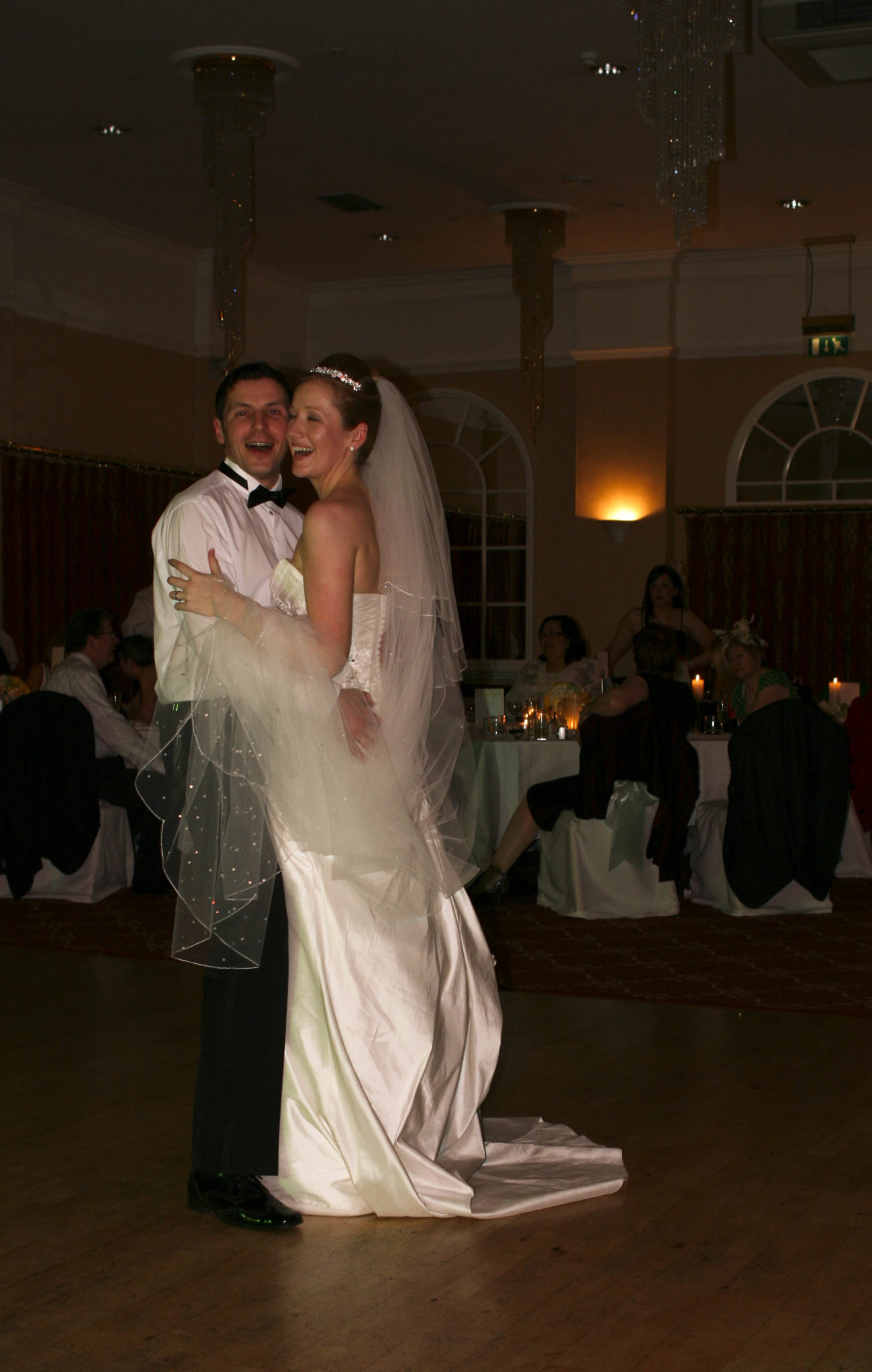 The First Dance Parkway Hotel Cwmbran Chris Francis